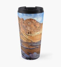 First Light at Chasm Lake Travel Mug