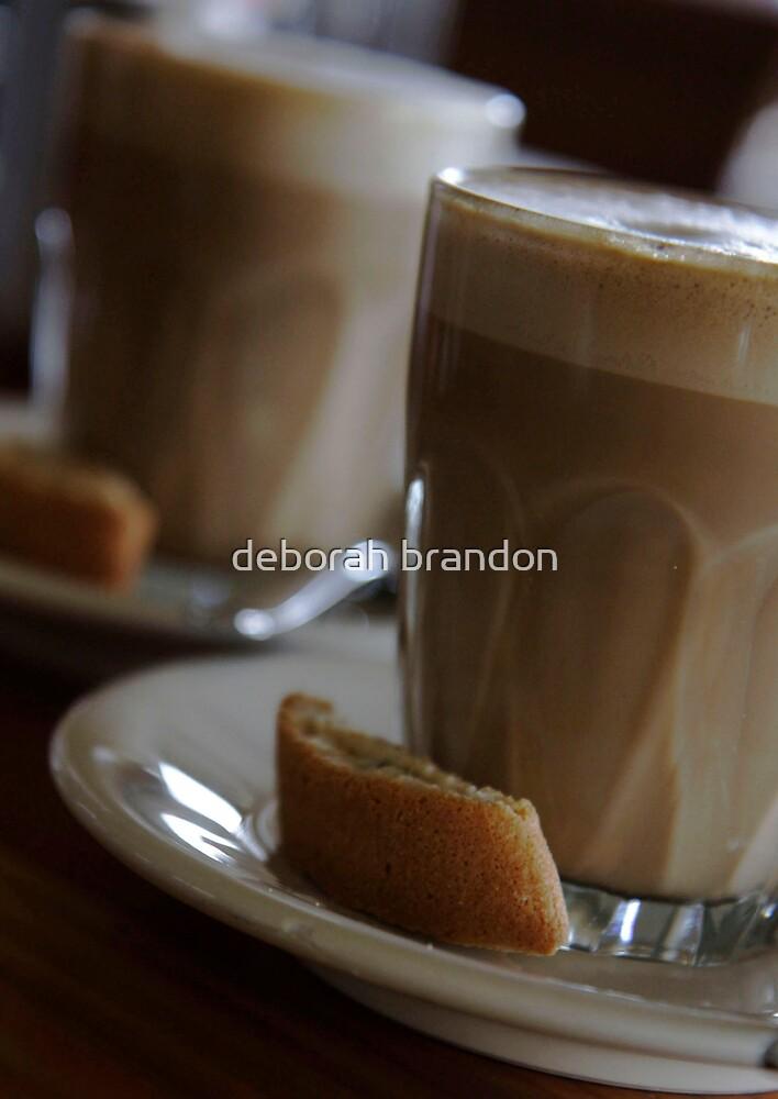 he was my cream & I was his coffee ............ by deborah brandon
