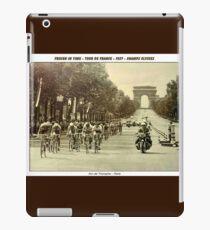 TOUR de FRANCE : Vintage 1937 Paris Advertising Print iPad Case/Skin
