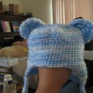 Baby blue bear hat by RoboBarb