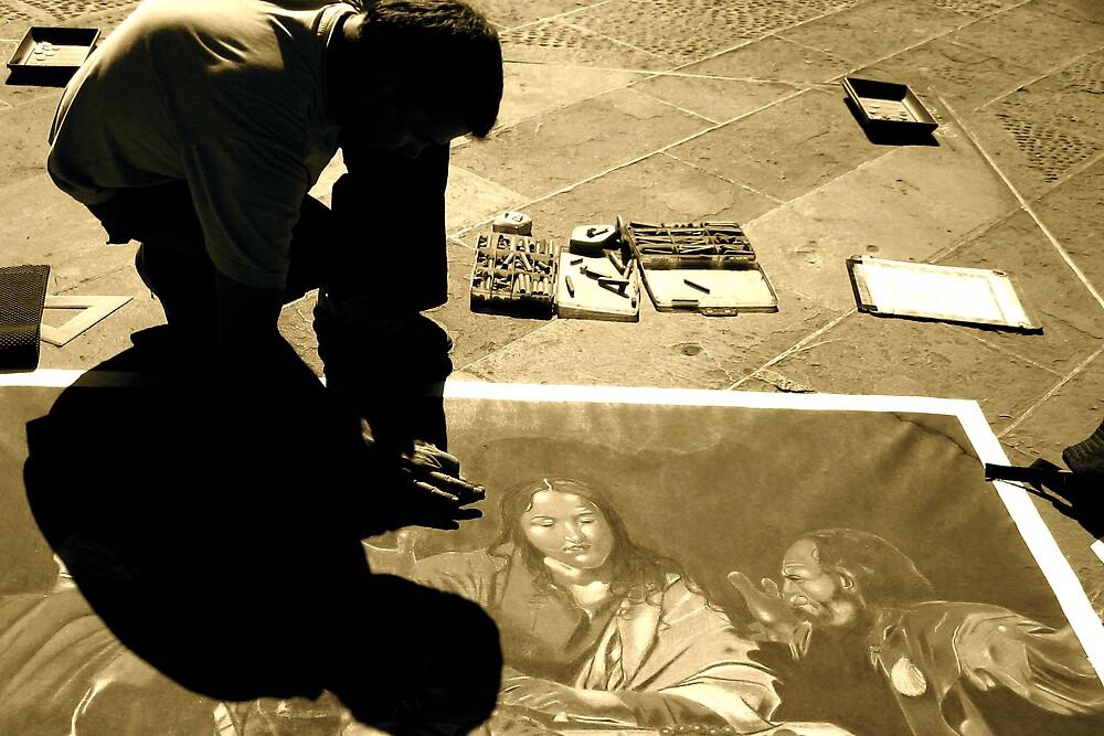 street artist by ginapassarelli