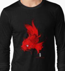 Koi   red Long Sleeve T-Shirt
