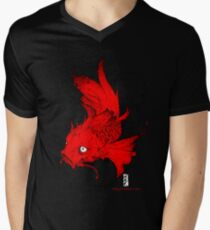 Koi | red Men's V-Neck T-Shirt