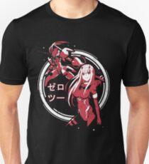 Zero Two - Strelitzia | Darling in the Franxx Slim Fit T-Shirt