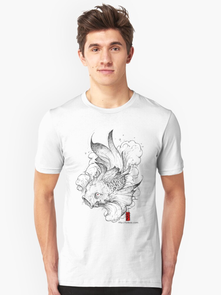 Koi | clear Unisex T-Shirt Front