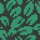 Pixel Leaf Pattern by Porto881