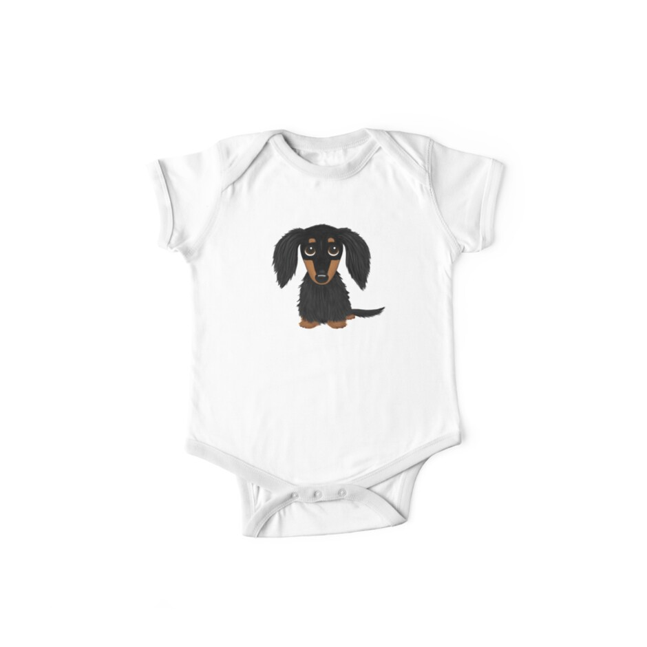 5d9a24239 Black and Tan Long Haired Dachshund