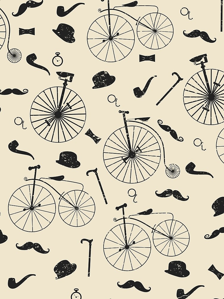 A Victorian Gentleman Goes Cycling by MeredithWatson