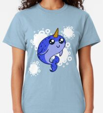 Blue Narwhal Classic T-Shirt