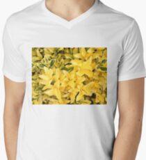 """""""Yellow's Delight"""", Photo Artwork Men's V-Neck T-Shirt"""