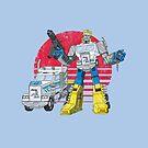 Big Robot in Little China by ianleino