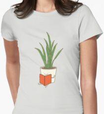 Zimmerpflanze Tailliertes T-Shirt für Frauen