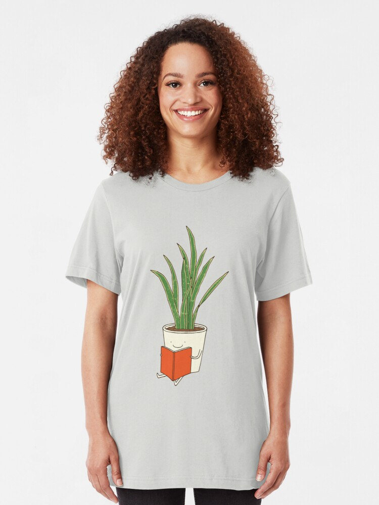 Alternate view of Indoor plant Slim Fit T-Shirt