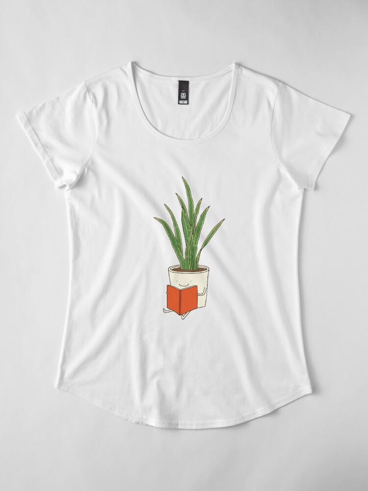 Alternate view of Indoor plant Premium Scoop T-Shirt