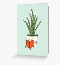Indoor plant Greeting Card