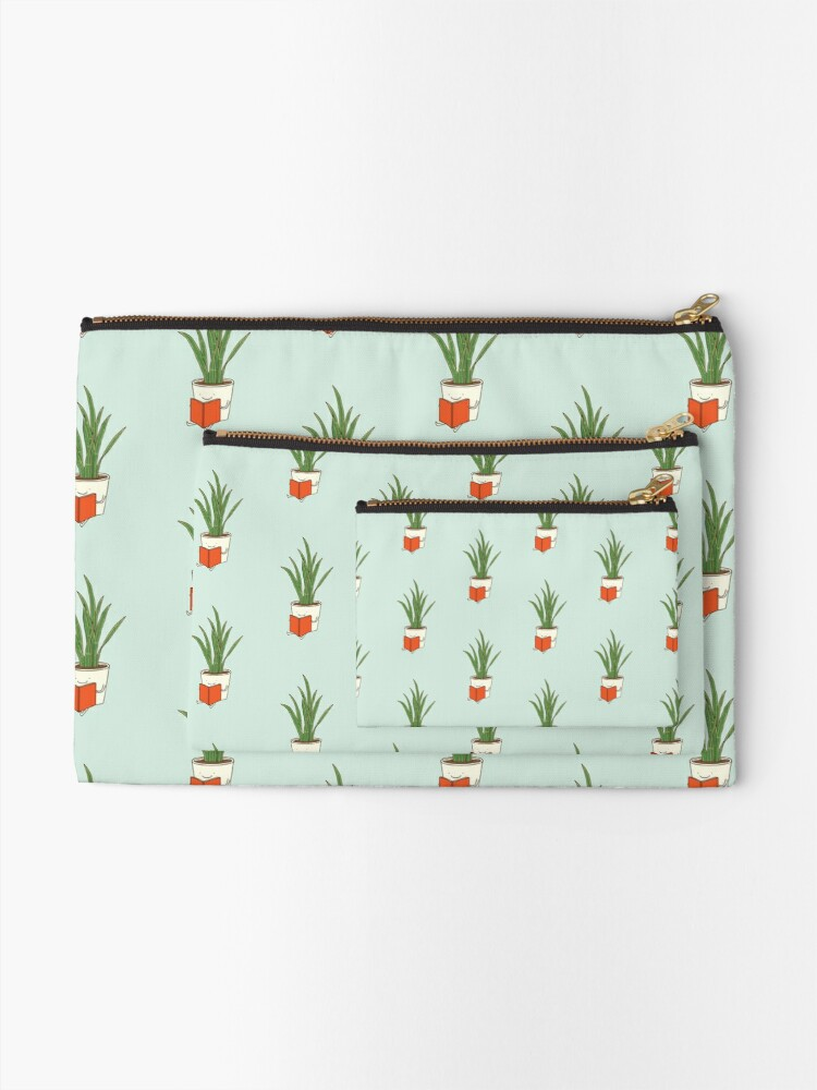 Alternate view of Indoor plant Zipper Pouch