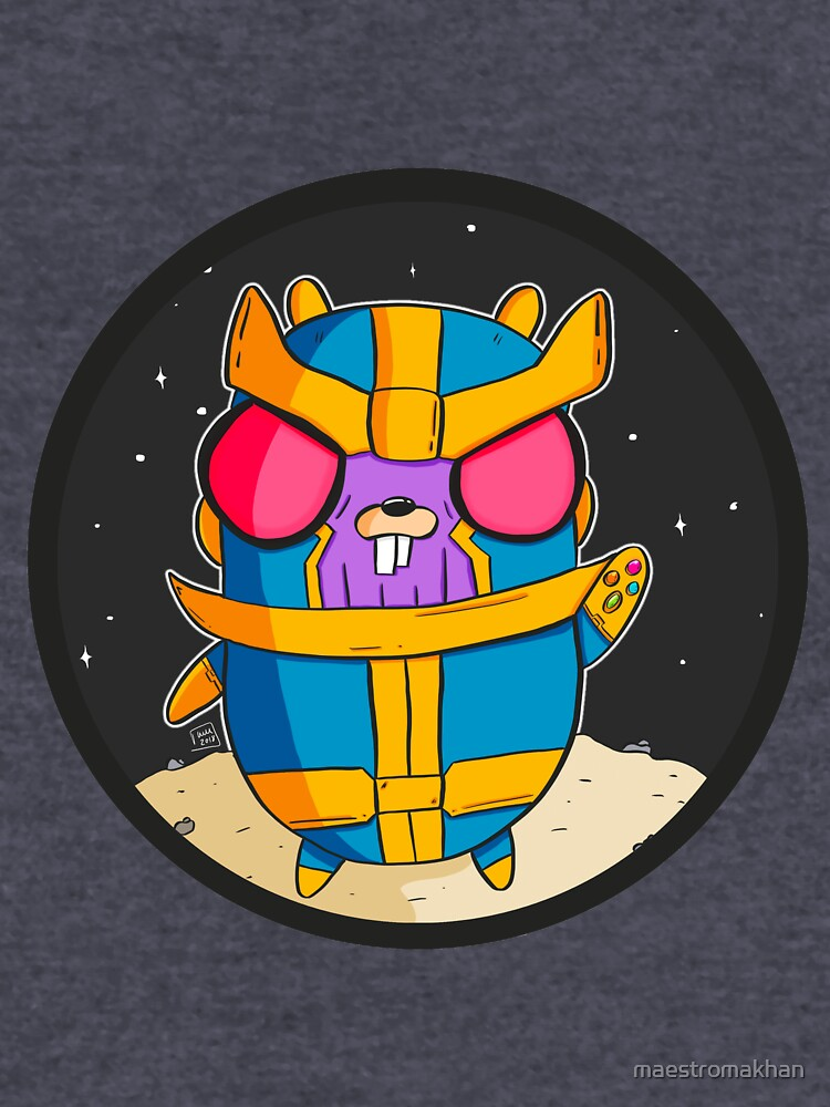 Thanos Gopher - Golang by maestromakhan