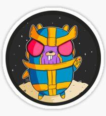 Pegatina Thanos Gopher - Golang
