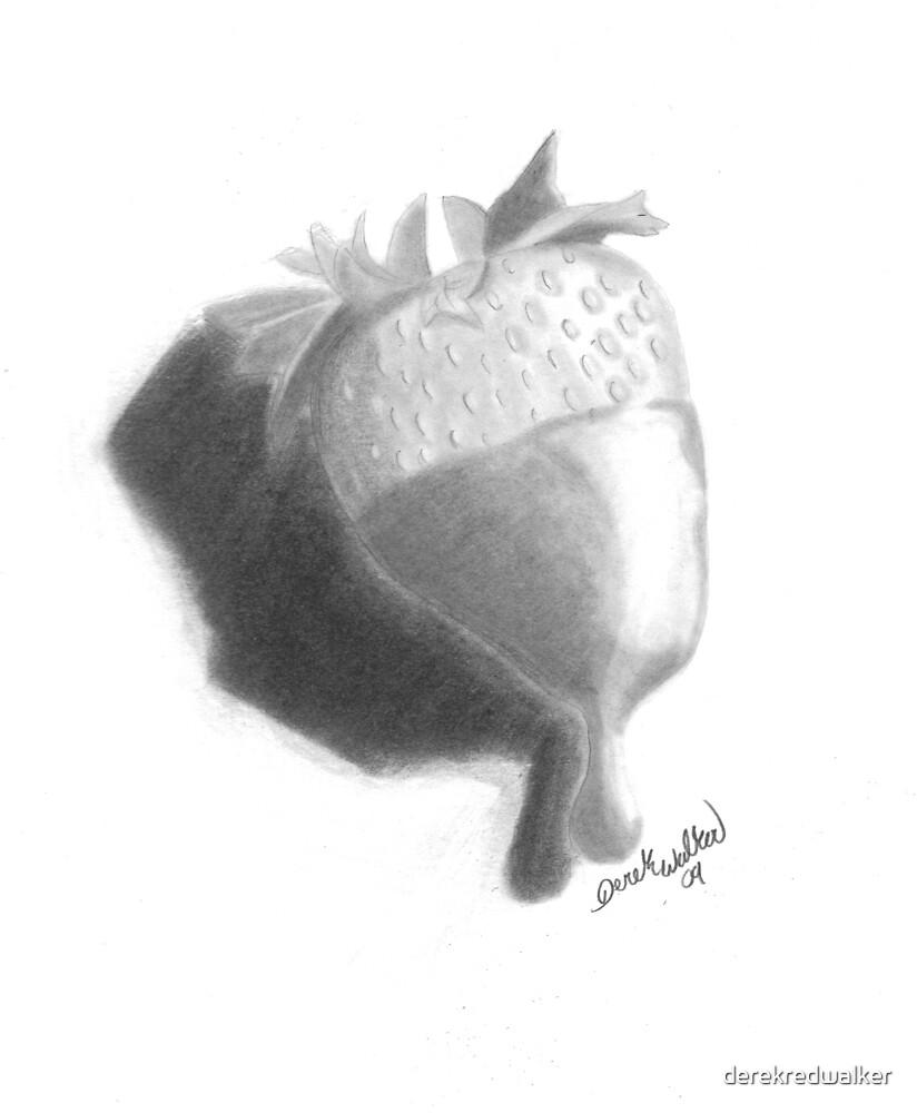 Strawberry by derekredwalker