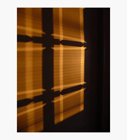 Wall Plaid Photographic Print