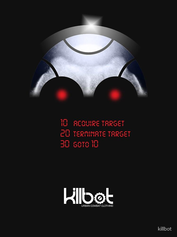 Killbot: Programmed to kill by killbot