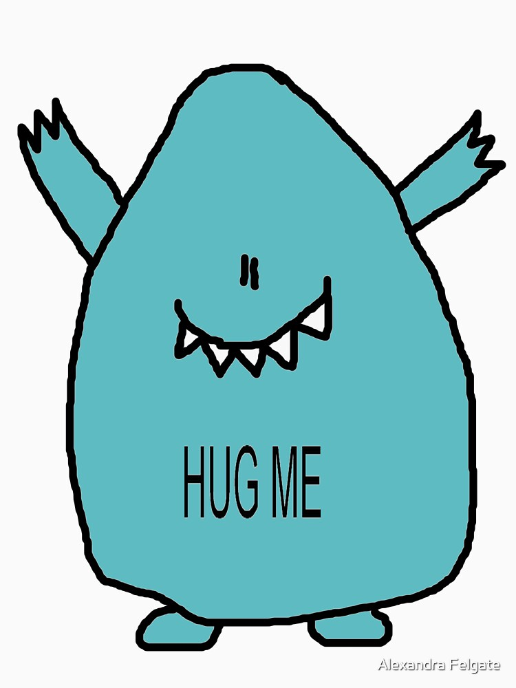 Hug Me! - in blue by aixie