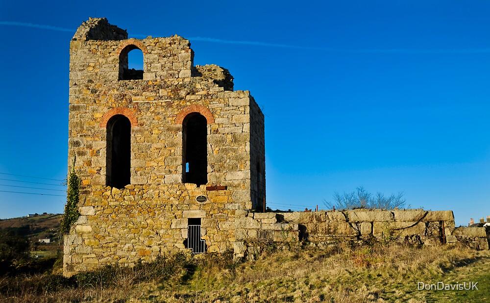 Ruins of a Tin Mine: Cornwall UK by DonDavisUK