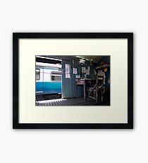 Train Office Framed Print