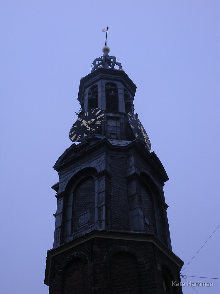 Old Clock Tower by Kate Harriman