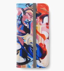 Expressive Abstract People Composition painting iPhone Wallet/Case/Skin