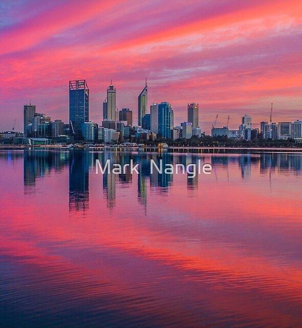 Good Morning, Perth - Western Australia by Mark  Nangle