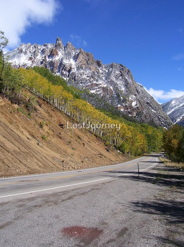 Mountain Road Beauty by LostJourney