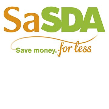 Sasda - ASDA & Sainsbury's merger - funny new logo by neopod