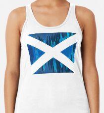 Camiseta de tirantes para mujer escocia