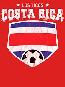 0b964682c Costa Rica Football T-Shirts