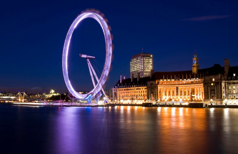 London Eye by nathanpwilliams