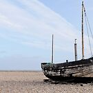 Camber Sands: Beached Boat by AntSmith