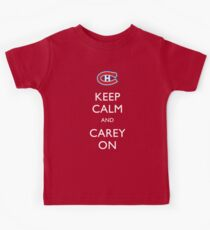 Keep Calm & Carey On Kids Tee