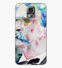 MARK TWAIN - watercolor portrait.5 Case/Skin for Samsung Galaxy