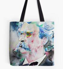 MARK TWAIN - watercolor portrait.5 Tote Bag