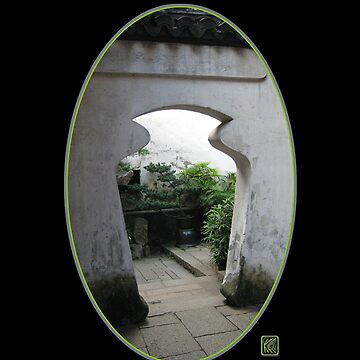 Yu Gardens Jar Doorway, Shanghai by keithcr