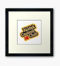 Kodak Camera Club Framed Print