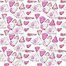 Perfect Pencil Pizza Time in Pink! by Shelly Still