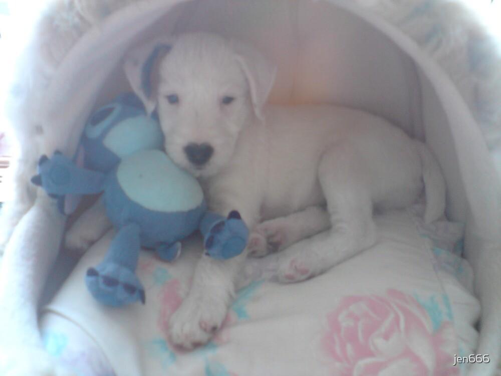puppy by jen666