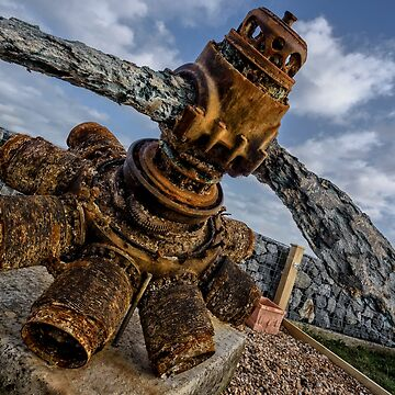 Camber Sands: WW2 Propellor Relic by AntSmith