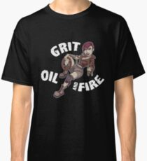 Grit, oil and fire Classic T-Shirt