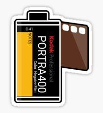 Kodak Portra 400! Sticker