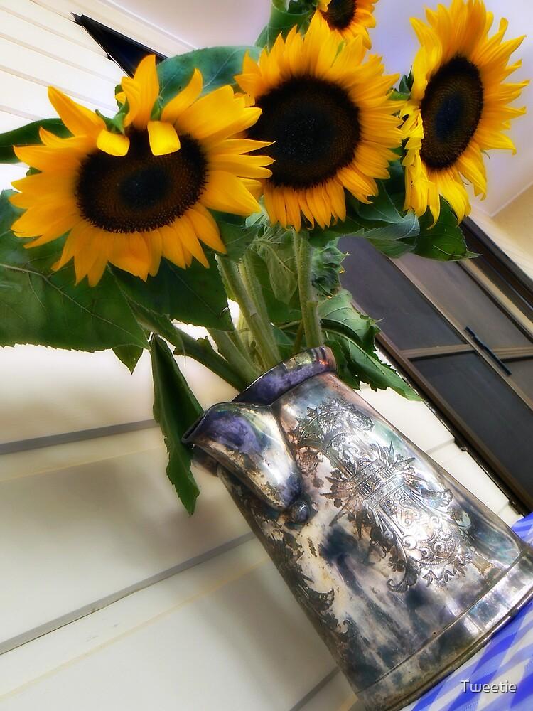 Sunflowers by Tweetie