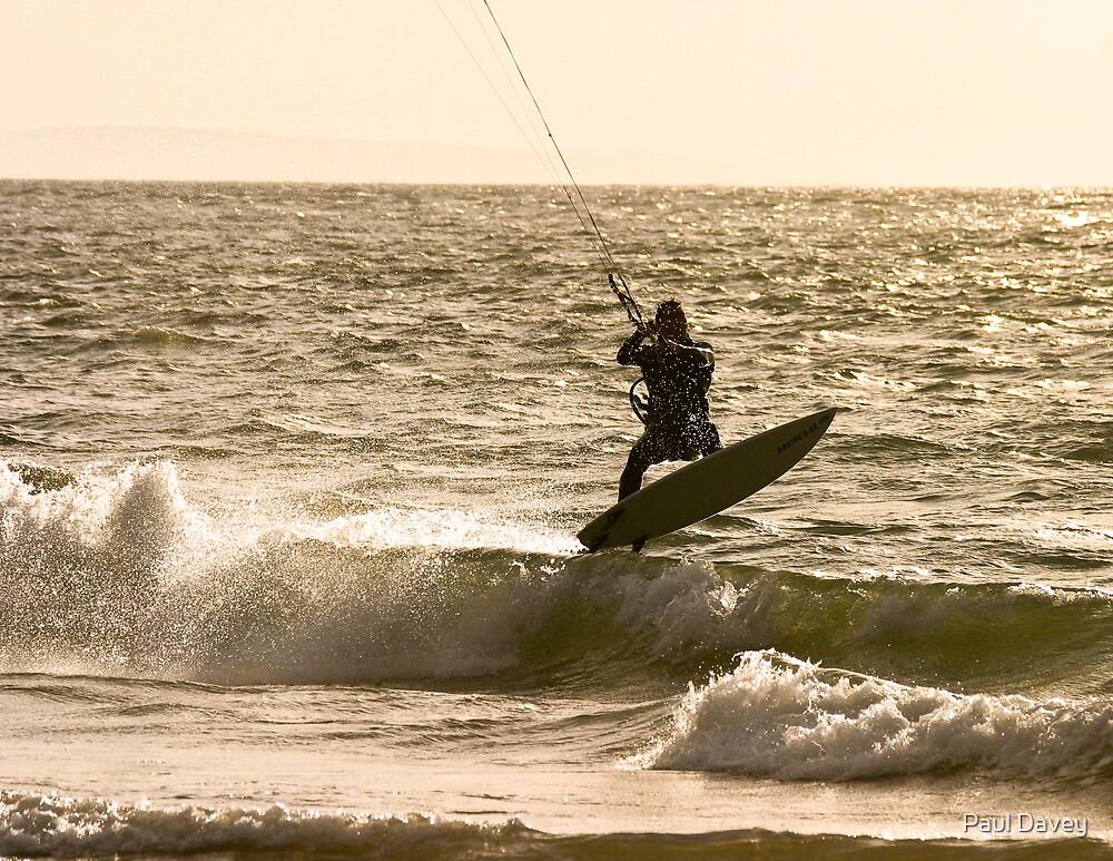 Kite Surfer 3 by Paul Davey