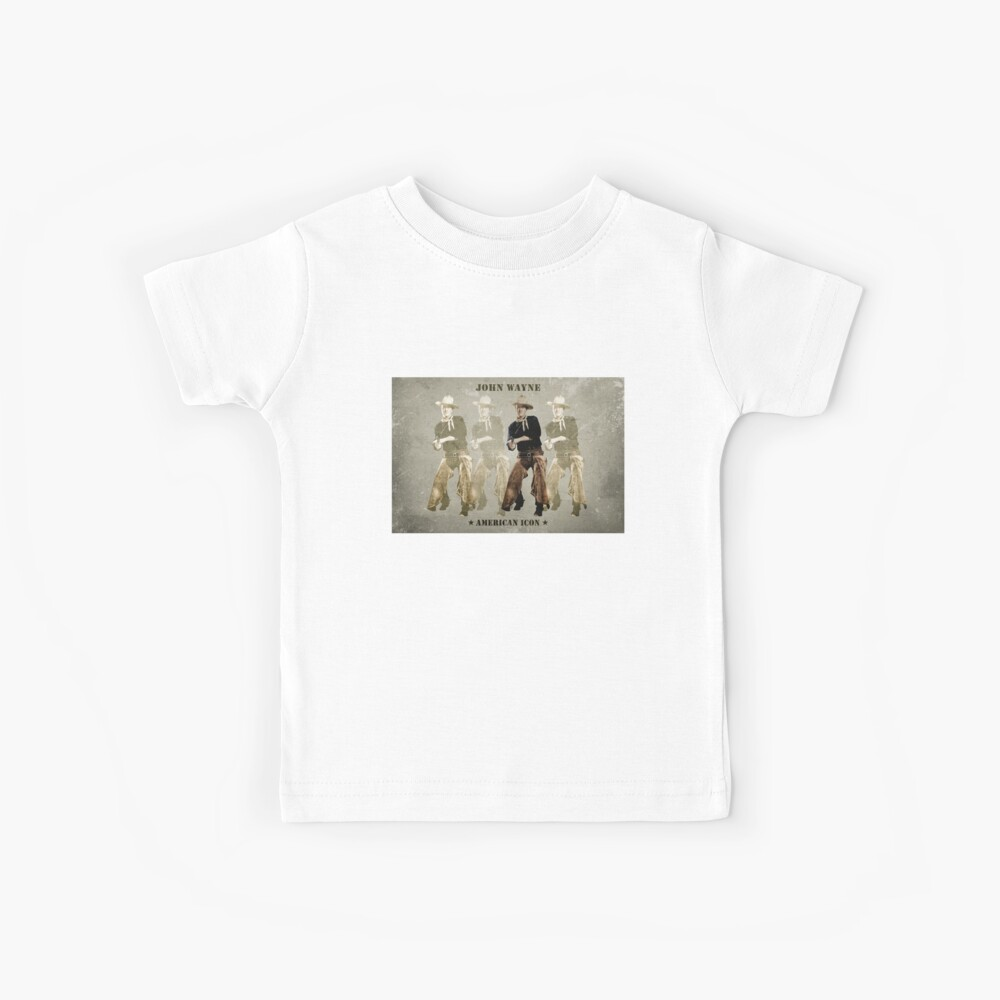 JOHN WAYNE - AMERICAN ICON Kids T-Shirt